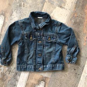2T wrangler brand jean jacket